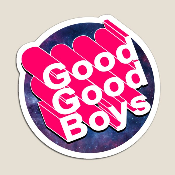 Good Good Boys - McElroy Brothers - Text Only Magnet