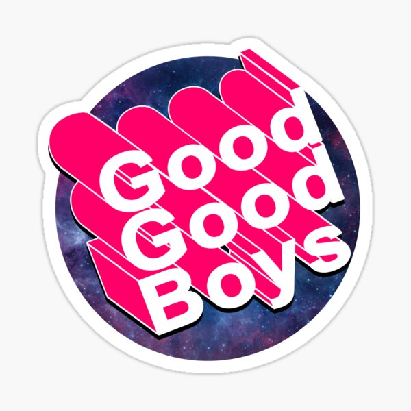 Good Good Boys - McElroy Brothers - Text Only Sticker