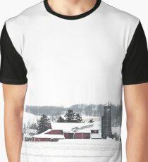 Winter Farm Graphic T-Shirt