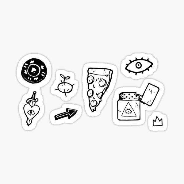 Stickers set 1.0 Pegatina