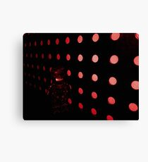 Brickography Pictures - Red Devil Canvas Print