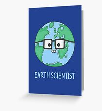 Earth Scientist Greeting Card