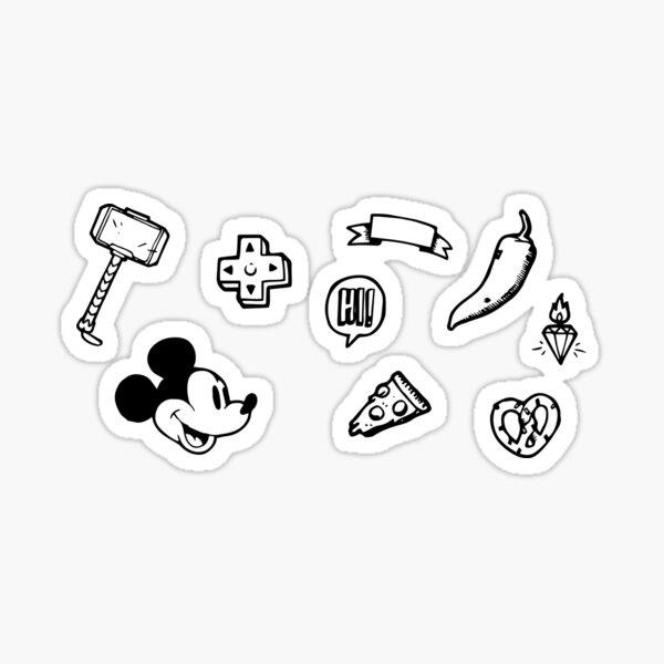 Stickers set 3.0 Pegatina