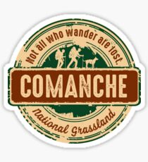 Comanche National Grassland Sticker