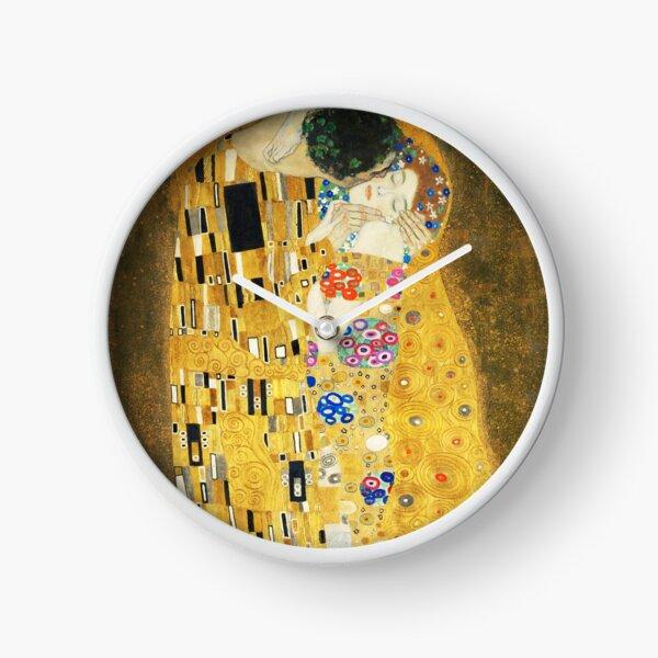 The Kiss by Klimt Clock