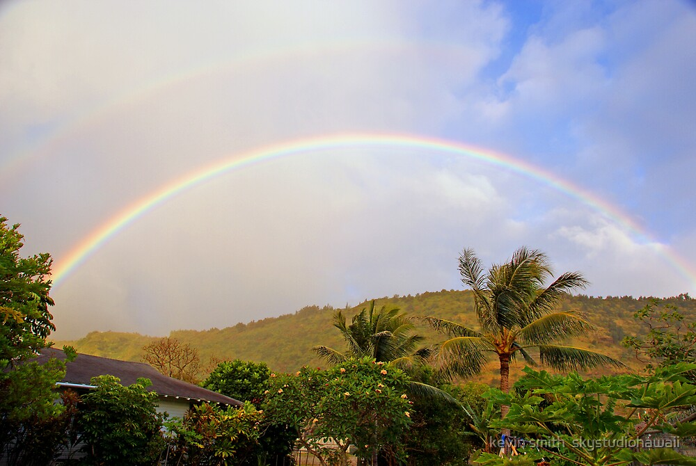 Bless Our Humble Manoa Home by kevin smith  skystudiohawaii
