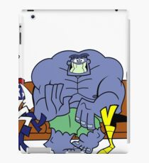 dexter's lab the justice friends iPad Case/Skin