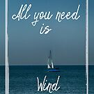 All You Need is Wind by designingjudy