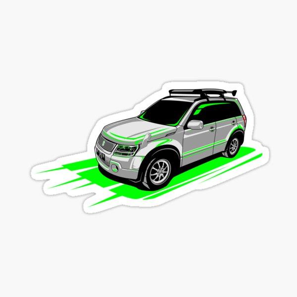 For Suzuki Grand Vitara AT MT 4X4 Off Road HLLebw Auto Pegatinas de Calcoman/ías