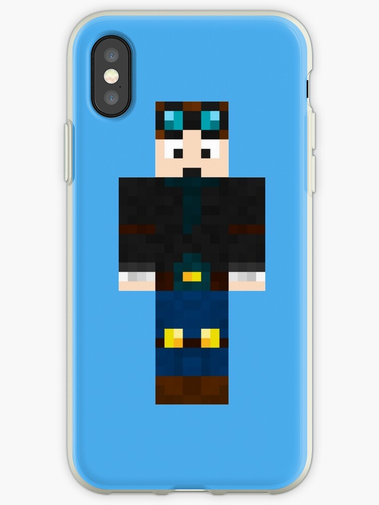 DanTDM Minecraft Skin IPhone Cases Covers By Amitdavidov - Minecraft skins fur iphone