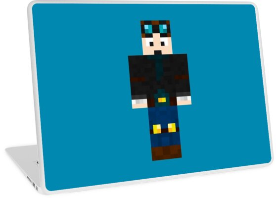 DanTDM Minecraft Skin Laptop Skins By Amitdavidov Redbubble - Minecraft skins fur mac