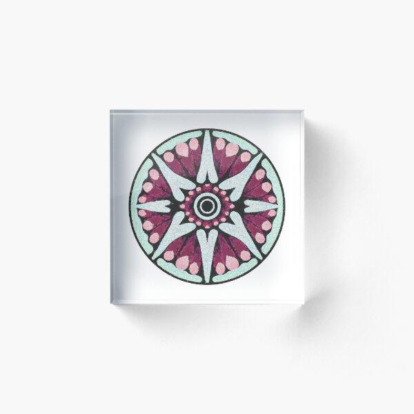 Wayward Compass Acrylic Block