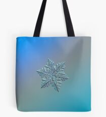 Real snowflake - 13 February 2017 - 5 alt Tote Bag