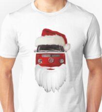 VW Santa Claus - white background T-Shirt