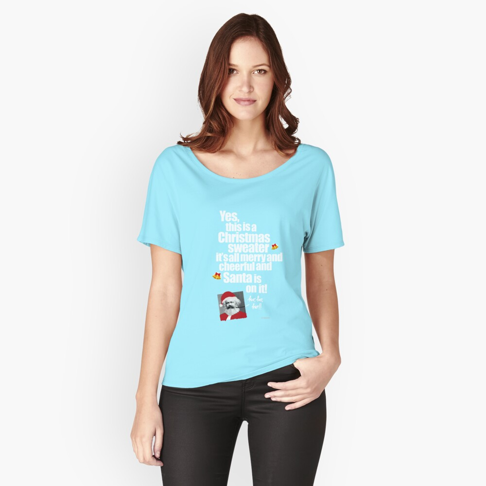 A Christmas Sweater - 2 Women's Relaxed Fit T-Shirt Front