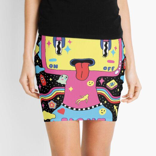 Fight Depression Mini Skirt