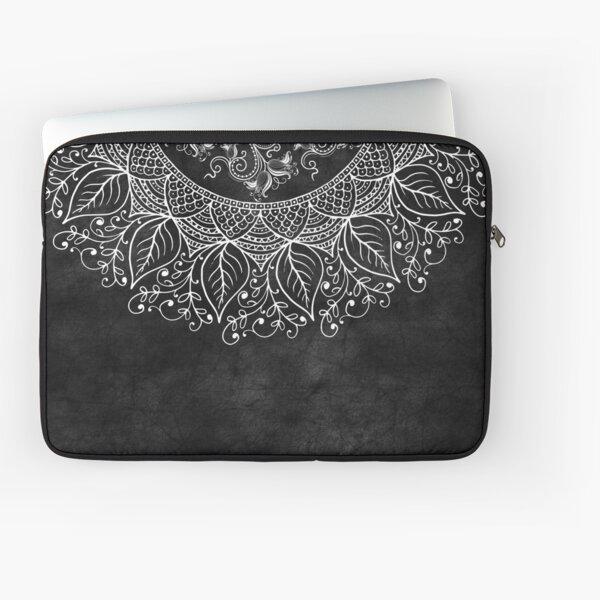 Mandaleaf - Black Laptop Sleeve