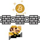 Bit Man Busting Bitcoins out of Blockchains by Mehdals