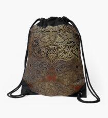 Mandala - Bronze Drawstring Bag