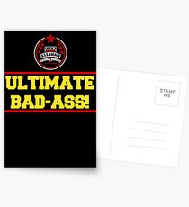 I am the Ultimate Bad-Ass Postcards