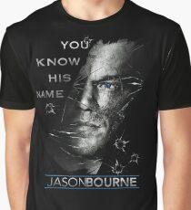 Jason Bourne Graphic T-Shirt