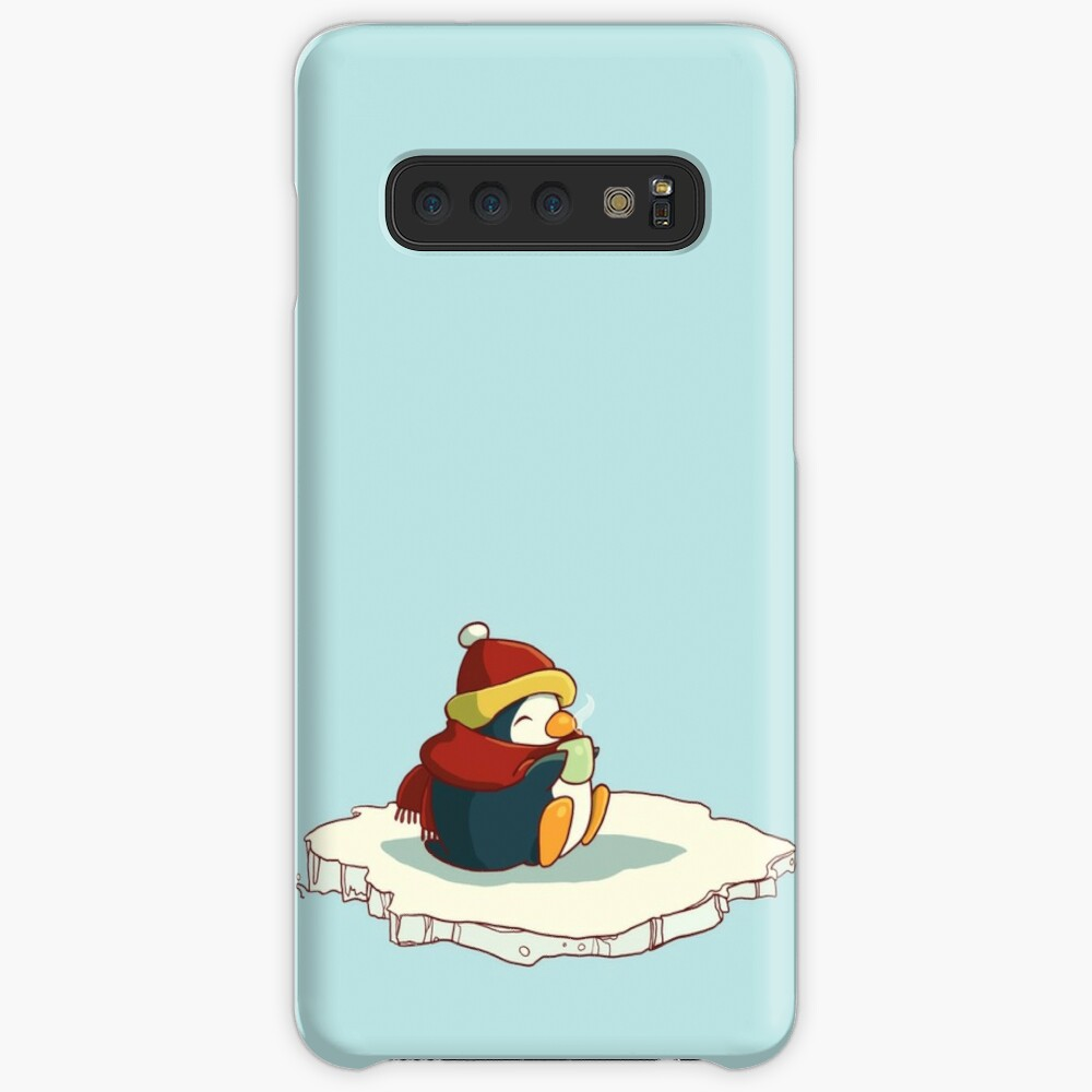 happy penguin Case & Skin for Samsung Galaxy
