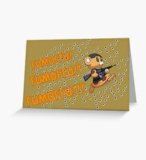 Fumoffu!!! - Full Metal Panic! Greeting Card