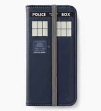 Classic Tardis Door iPhone Wallet/Case/Skin
