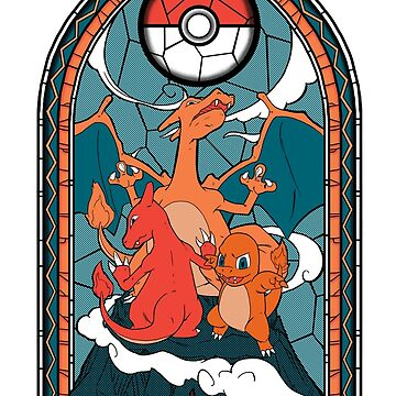 Char Stained Glass Window by SuperDeano