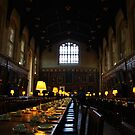Dining Hall, Christ's College, Oxford. by onetonshadow