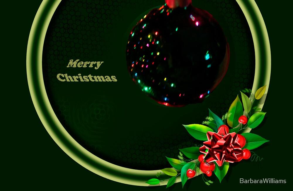 Christmas Card by BarbaraWilliams