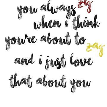 You always Zig (Klaine) by brianssunshine