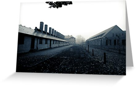 Auschwitz by onetonshadow