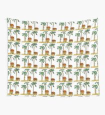 Palm Trees and Paradise Wall Tapestry