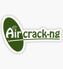 Aircrack-ng Green Logo Sticker