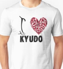 Kyudo T Shirt Design I Love Kyudo T-Shirt