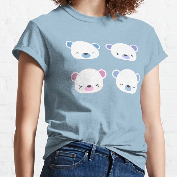 Cute polar bears Classic T-Shirt