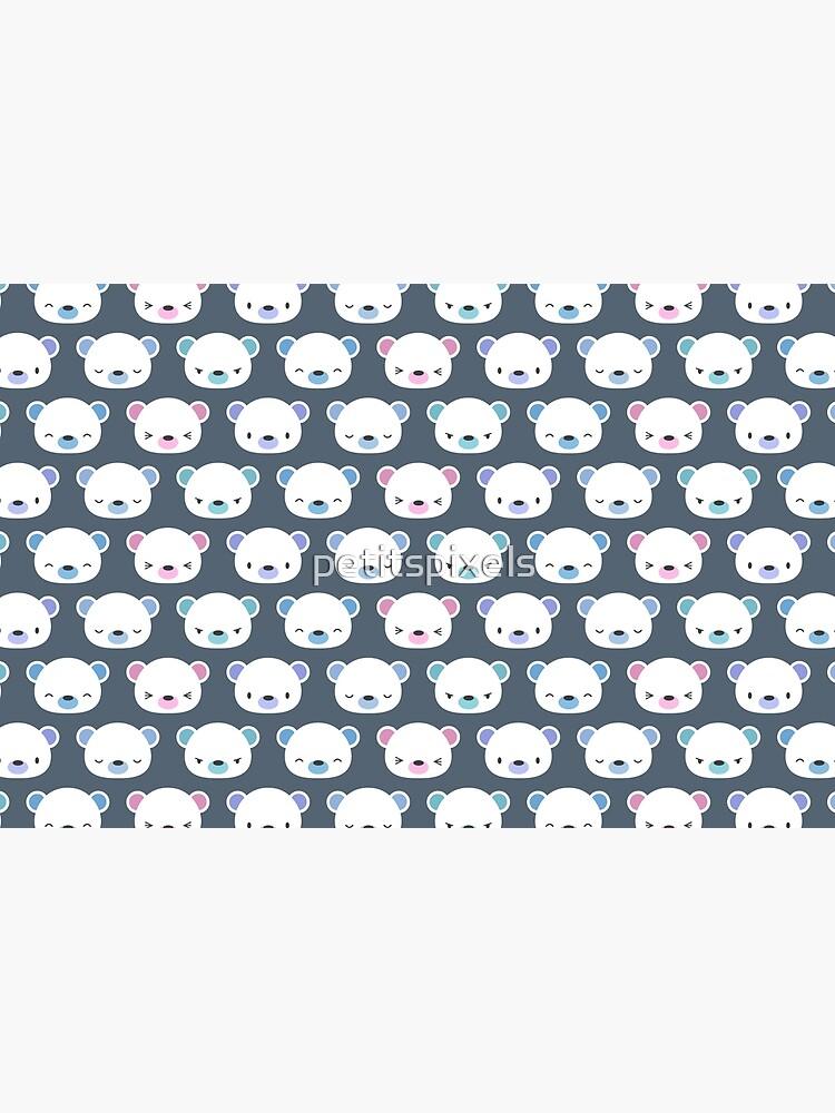 Cute polar bears by petitspixels