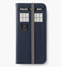 New Tardis Door iPhone Wallet/Case/Skin