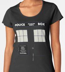 New Tardis Door Women's Premium T-Shirt