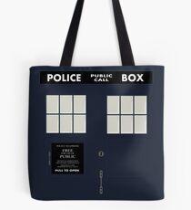 New Tardis Door Tote Bag