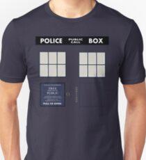Classic Tardis Door Unisex T-Shirt