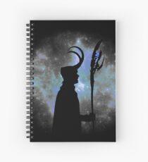 God of mischief Spiral Notebook