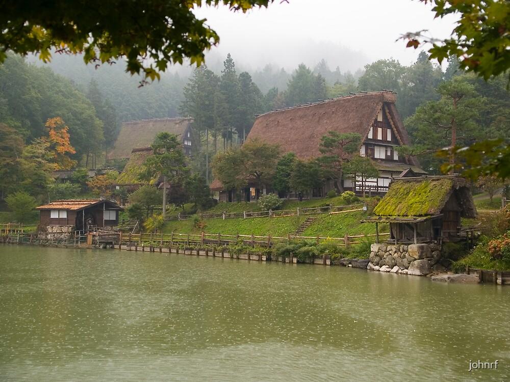 Hida Village Takayama Japan by johnrf