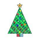 Noel Tree by Chazagirl