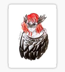 The Morrigan in you Sticker