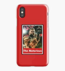 "Conor  ""The Notorious""  McGregor iPhone Case/Skin"