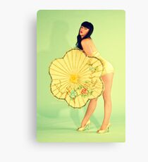 PinUp 50s poster Canvas Print