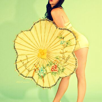 PinUp 50s poster by utherpen