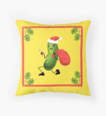 Christmas Pickle Throw Pillow